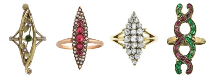 Four-antique-rings-from-sellers-on-Ruby-Lane.-I-love-this-elongated-navette-shape.jpg