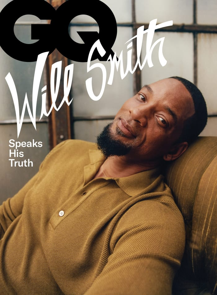 GQ November 2021- Cover-Will Smith